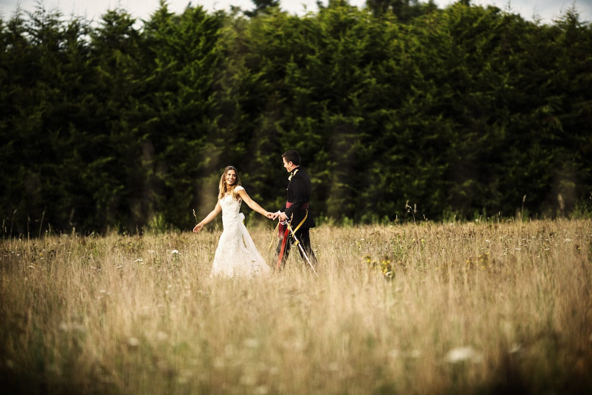 Bride and Groom Wedding Photography Hampshire