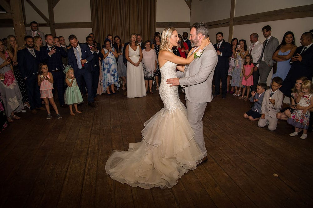 First wedding dance Hampshire