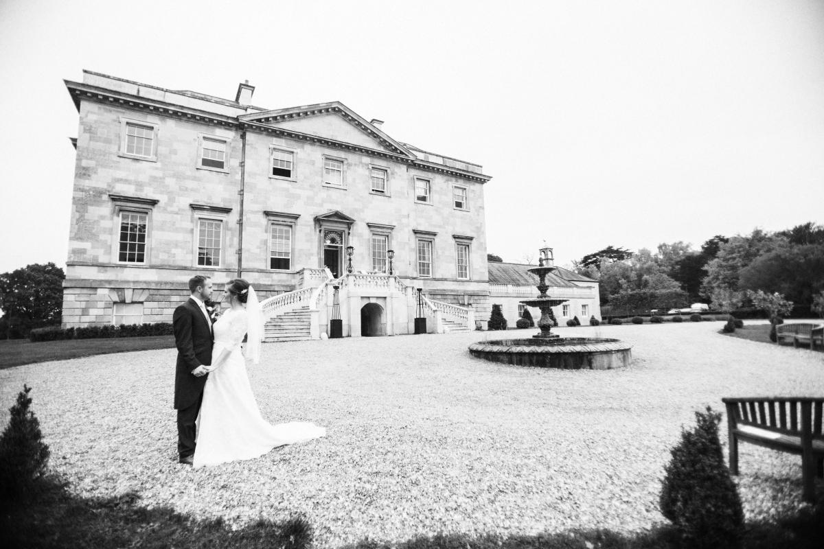 just married botleys mansion couple